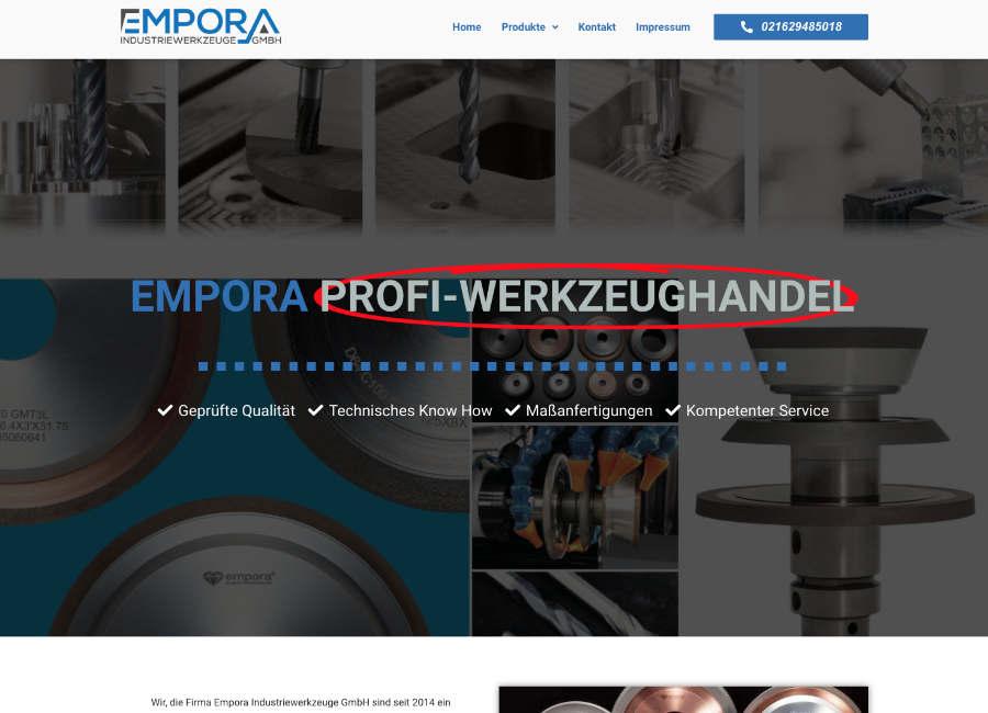 Empora Werkzeuge